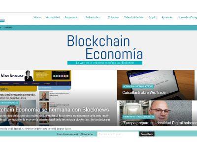 Blocknews faz parceria com Blockchain Economía, site da Espanha