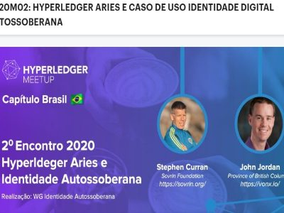Capítulo Hyperledger Brasil vai discutir identidade digital autossoberana