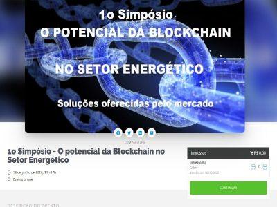 Inscreva-se no 2º painel do Simpósio O Potencial da Blockchain no Setor Energético