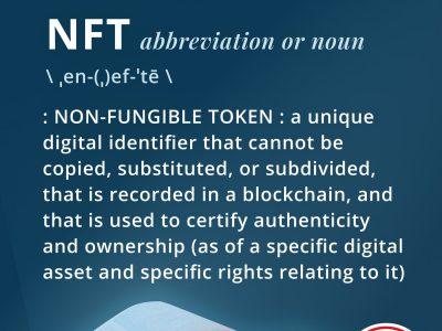 Merriam-Webster está leiloando NFT da definição de … NFT